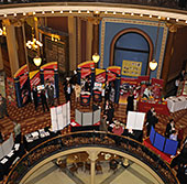 ISU exhibits in the statehouse