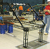 Iowa State Steel Bridge Team competes at nationals.