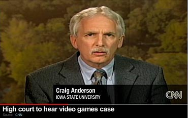 ISU psychology professor Craig Anderson appeared on CNN back in April when the Supreme Court announced that it would hear the case.
