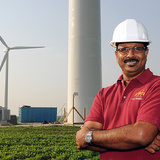 Sri Sritharan leads the Wind Energy Initiative