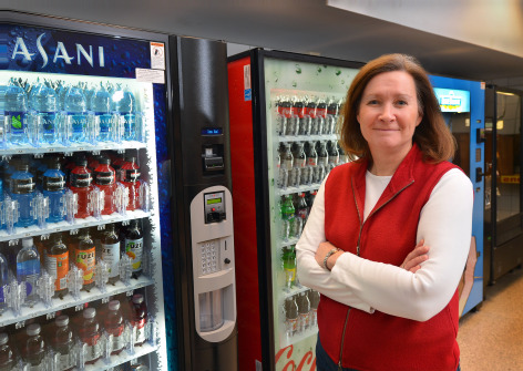 snack machines in schools