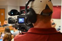 Production Crew Taping Steffen Schmidt's Class