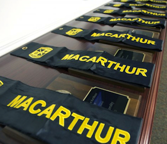 MacArthur banners