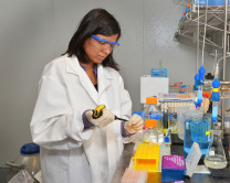 Shivani Garg in lab #2