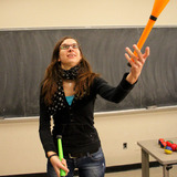 Mathematics and Juggling Class