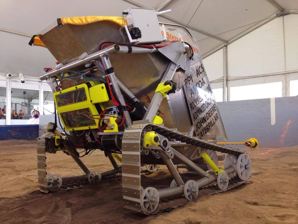 Cyclone Space Mining ready to defend title at NASA Robotic ...