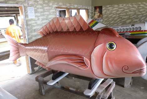 Fish coffin