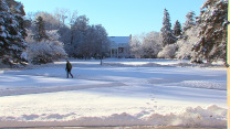 Postcard from Campus: Winter Wonderland