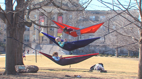 Postcard from Campus: Sun Day, Fun Day