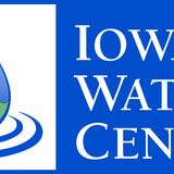 The logo of the Iowa Water Center at Iowa State University