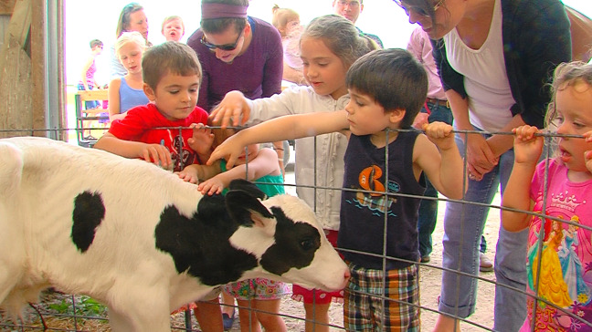 Iowa State Dairy Farm has their annual open house