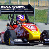 Cyclone Racing car in action at Formula North