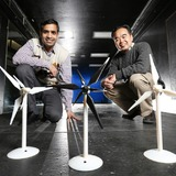 Iowa State engineers study dual-rotor wind turbines