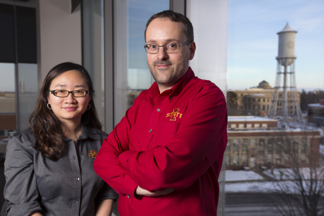 Zengyi Shao and Jean-Philippe Tessonnier at Iowa State University