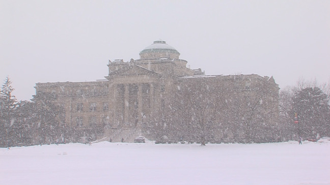 Postcard from Campus: Let it Snow