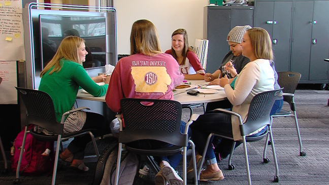 ISU learning communities help new students adjust academically & socially