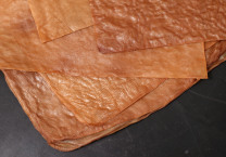 Dried sheets of cellulosic fiber