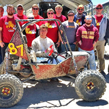 Iowa State's Team Baja in California