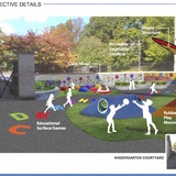Kindergarten playground design