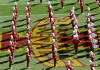 Cyclone Marching Band performing in Jack Trice Stadium