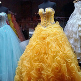 Variety of prom and ball gowns