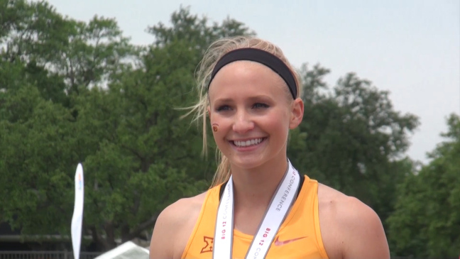 Iowa State graduate shows her versatility, excelling in school and on the track