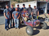 The Iowa State Baja SAE team at competiton in California.
