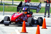 Iowa State's Formula SAE team in racing action at Formula North