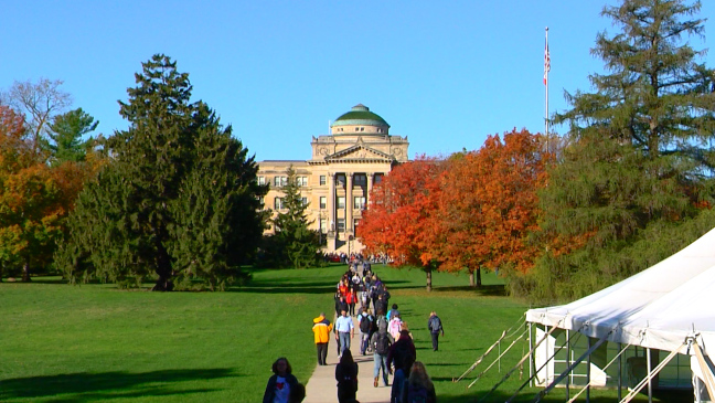 Postcard from Campus: Fall Transformation