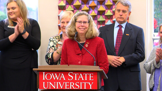 Wendy Wintersteen named Iowa State's next president