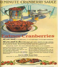 Good Housekeeping ad for Eatmor Cranberries
