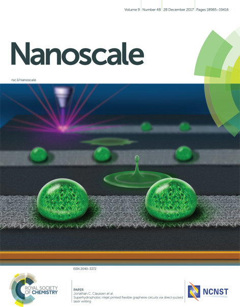 Cover image of the journal Nanoscale