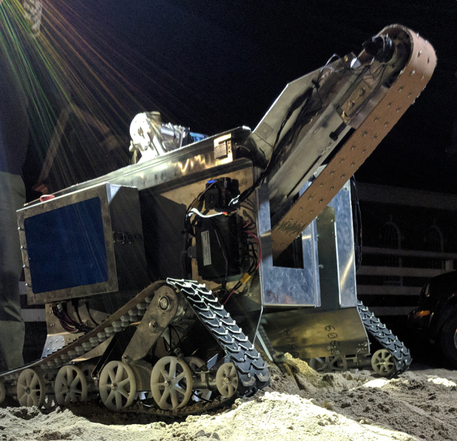 The latest mining robot from Cyclone Space Mining