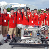 The students of Cyclone Space Mining at NASA's Kennedy Space Center