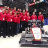 The Cyclone Racing Formula SAE team at Formula North.