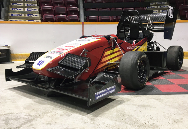 Cyclone Racing's 2018 racing car