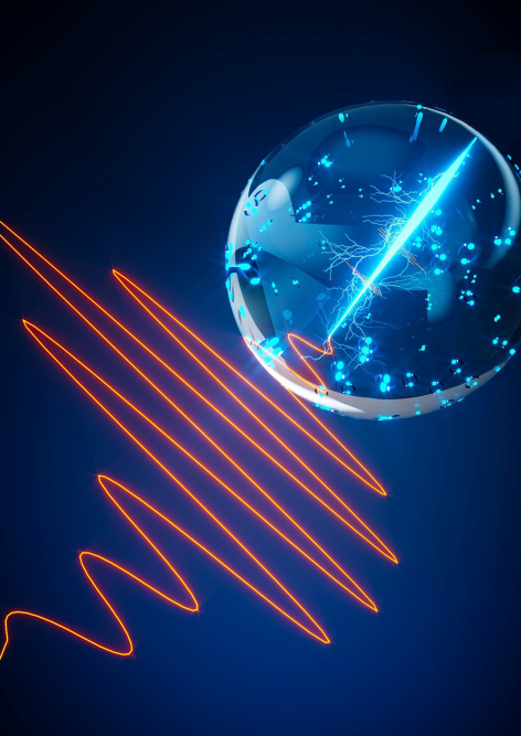 An illustration shows light-induced acceleration of supercurrents, enabling ultrafast quantum computing