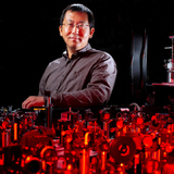 Jigang Wang is using light flashes as a tuning knob to control new quantum states of matter.