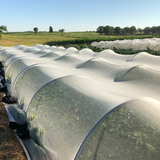 mesotunnels cover crops on a research farm