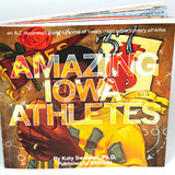 "Cover of ""Amazing Iowa Athletes"" book"