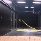 Testing cable models in an Iowa State wind tunnel